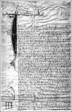 Gründungsurkunde aus dem Jahr 1339