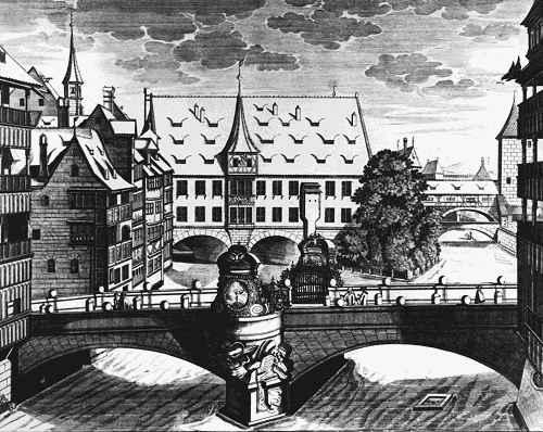 Kupferstich aus dem 17. Jahrhundert
