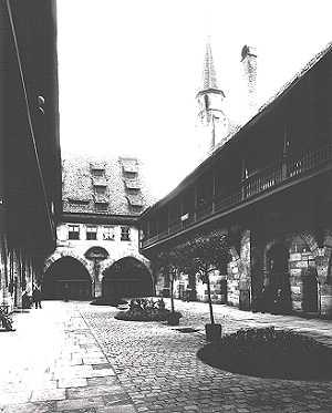 Kreuzigungshof um 1914