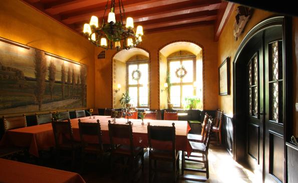 Großes Nebenzimmer im Restaurant Heilig-Geist-Spital